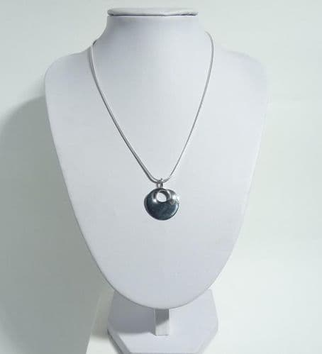 925 Sterling Silver Hand Crafted Pendant + Chain